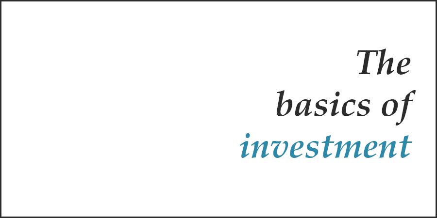 basics of investment