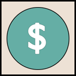 Picture showing a dollar coin