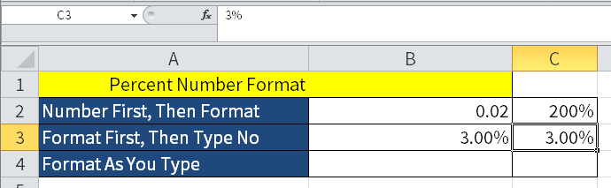 Screenshot of Excel showing its weird behavior when typing in preformatted cells.
