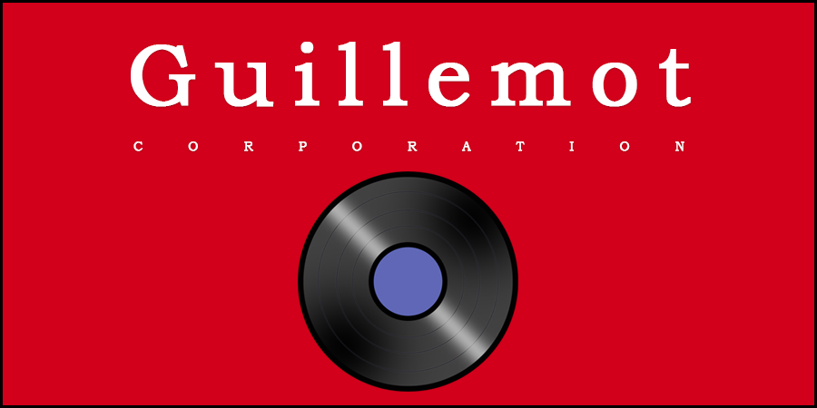 Picture of vinyl disc and text about Guillemont Corporation
